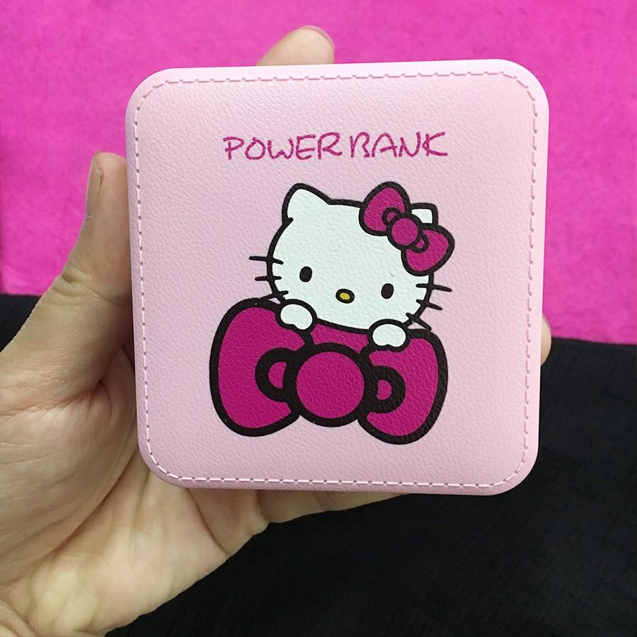 Pin sạc dự phòng Power Bank hoạt hình 5000mAh siêu dễ thương
