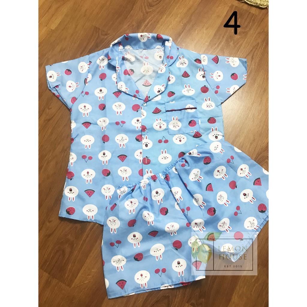 [SALE CỰC SỐC] Bộ đồ mặc ở nhà pijama kate thái mịn đẹp