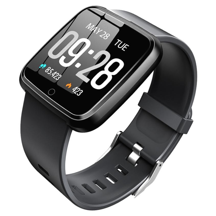 1.3 inch Color Screen Y7 Smartwatch Waterproof Heart Rate Sports Smart Bracelet
