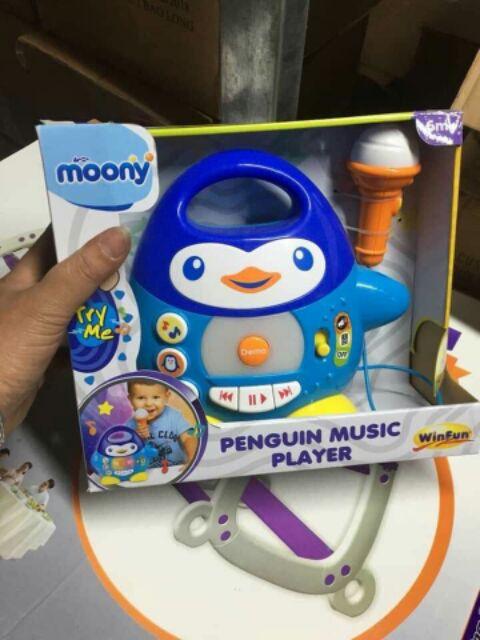 Đàn chim cánh cụt biết hát (kèm mic hát đc)