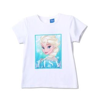 Áo thun Elsa ngắn tay bé gái Rabity 5122.5117