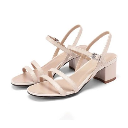 Sandal cao gót 5p quai ngang mảnh nhỏ