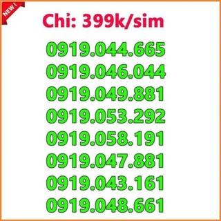 Sim số đẹp Vinaphone giá từ 400k đến 600k