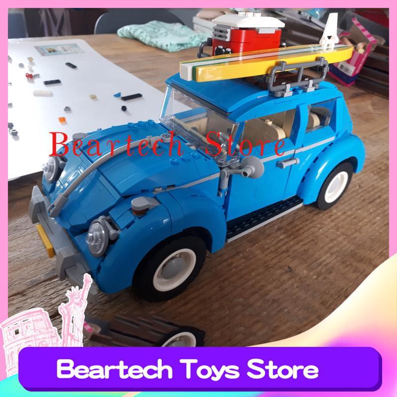 LEPIN 21003 Technic Volkswagen Beetle Compatible Lego 10252 Creator Building Blocks Bricks Toys Children Education MOC