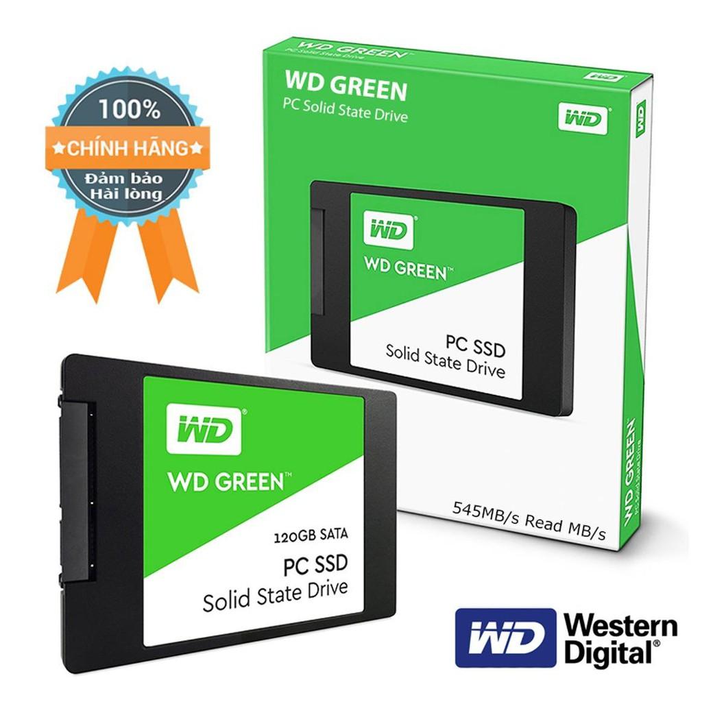 Ổ SSD Western Green 120Gb ( Xanh Đen ) chính hãng Vĩnh Xuân BH 36T - 2403461 , 1289438781 , 322_1289438781 , 1250000 , O-SSD-Western-Green-120Gb-Xanh-Den-chinh-hang-Vinh-Xuan-BH-36T-322_1289438781 , shopee.vn , Ổ SSD Western Green 120Gb ( Xanh Đen ) chính hãng Vĩnh Xuân BH 36T
