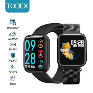 Đồng Hồ Đeo Tay Thông Minh TODEX P80 PRO Bluetooth Chống Nước IP68 Phong Cách Thể Thao Với 2 Dây Đeo Dành Cho IOS