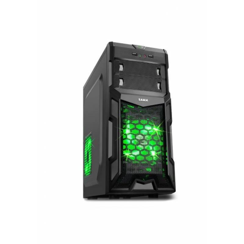 [Nhập ELCLMAY hoàn 30K xu đơn từ 200K]Vỏ Thùng Máy Sama A34 full ATX giá sinh viên (new fullbox) Giá chỉ 309.000₫