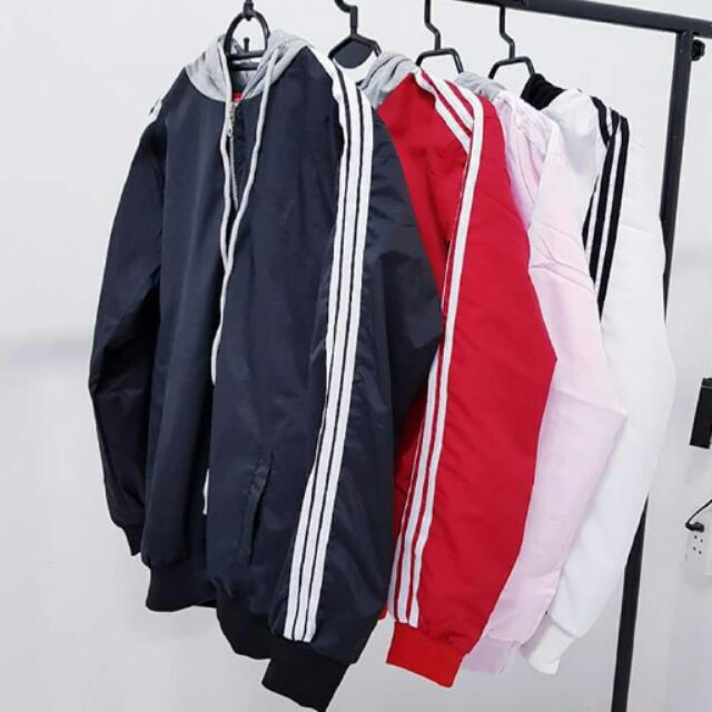 [ MA0510 Giảm 10%] - Jacket dù nón xám( ảnh thật)