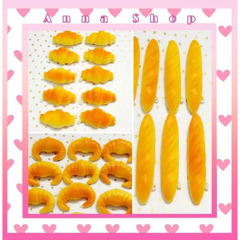 squishy mini Bánh Mì Chính Hãng Nhật GIÁ SỈ kèm bao bì và móc khóa