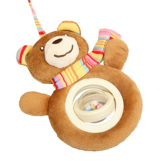 Bed Music Sing Bed Ring Toy Plush Bed Hanging Car Hanging Supplies for Mother and Child
