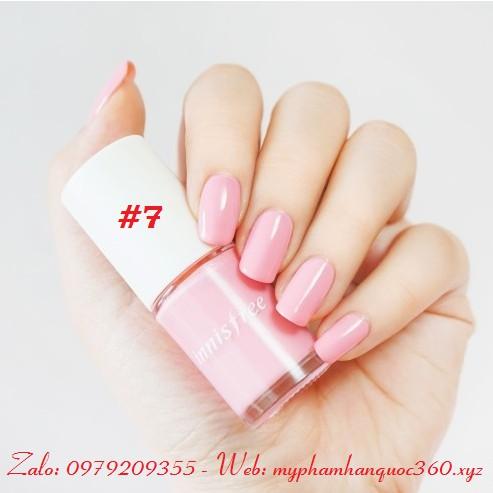 Sơn Móng Tay – Innisfree Real Color Nail - Màu số 7