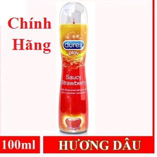 [Cam Kết Chính Hãng] Gel Bôi Trơn Hương Dâu Durex Strawberry cao cấp