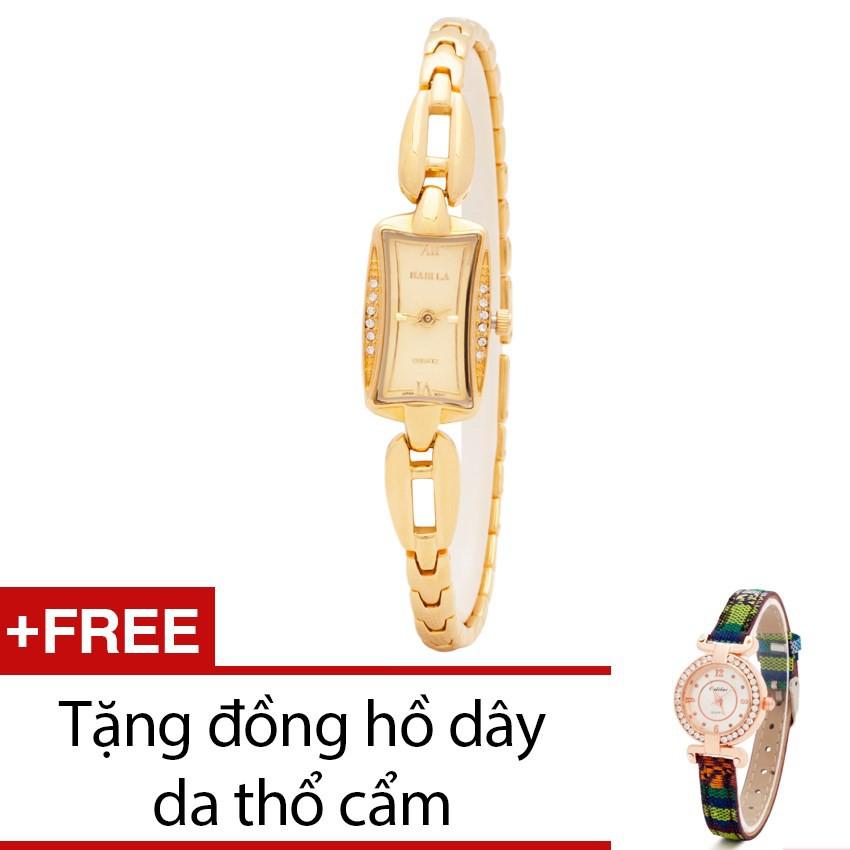 Đồng hồ nữ Babila mặt vuông dây kim loại tặng kèm 1 đồng hồ thổ cẩm - 2428832 , 101039193 , 322_101039193 , 999000 , Dong-ho-nu-Babila-mat-vuong-day-kim-loai-tang-kem-1-dong-ho-tho-cam-322_101039193 , shopee.vn , Đồng hồ nữ Babila mặt vuông dây kim loại tặng kèm 1 đồng hồ thổ cẩm