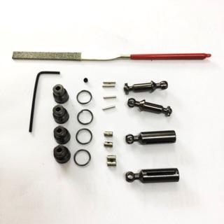Bộ trục cardan kim loại lắp cho xe RC WPL 1:16