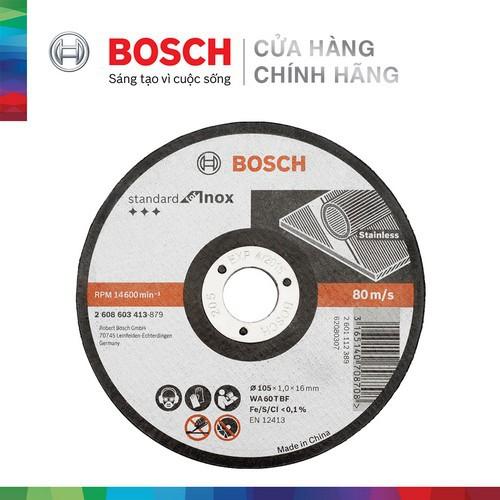 Đá cắt Bosch 105x1.0x16mm (Inox) - 22870427 , 2131695702 , 322_2131695702 , 28000 , Da-cat-Bosch-105x1.0x16mm-Inox-322_2131695702 , shopee.vn , Đá cắt Bosch 105x1.0x16mm (Inox)