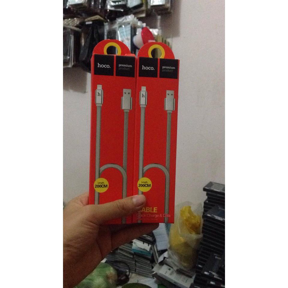 Cáp sạc chính hãng HOCO UPL12 dài 200cm có đèn LED báo sạc đầy chân lightning dùng cho Iphone - 13650763 , 1330129252 , 322_1330129252 , 89000 , Cap-sac-chinh-hang-HOCO-UPL12-dai-200cm-co-den-LED-bao-sac-day-chan-lightning-dung-cho-Iphone-322_1330129252 , shopee.vn , Cáp sạc chính hãng HOCO UPL12 dài 200cm có đèn LED báo sạc đầy chân lightning