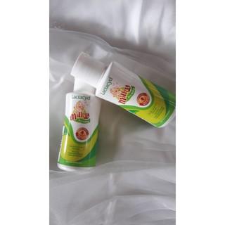 Combo 5 chai sữa tắm gội cho bé Lactacyd Milky mini 60ml giảm mẩn ngứa rôm sảy