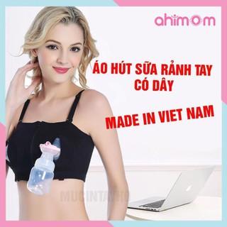 Áo hút sữa rảnh tay có dây điều chỉnh kích thước hàng loại 1