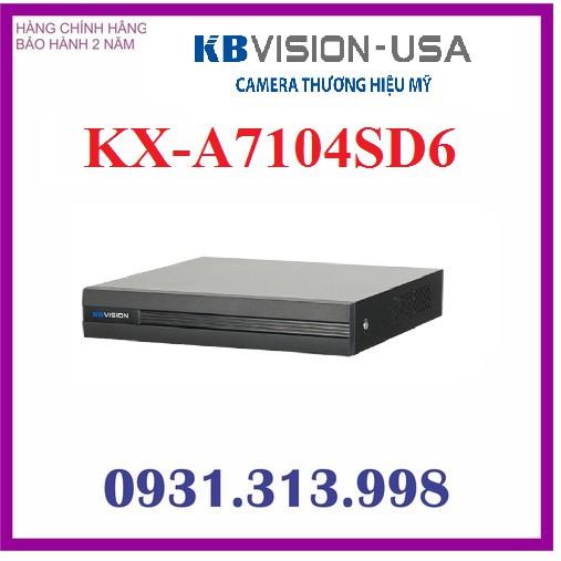Đầu ghi hình 4 kênh 5 in 1 KBVISION KX-A7104SD6