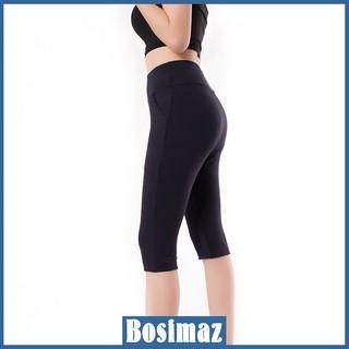 Quần Legging Ngố Bosimaz MS381 túi trước màu đen cao cấp, thun co giãn 4 chiều, vải đẹp dày, thoáng mát không xù lông. thumbnail