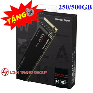 Ổ cứng SSD M.2 PCIe NVMe W.D Black SN750 250GB 500GB - bảo hành 5 năm - SD95 SD96