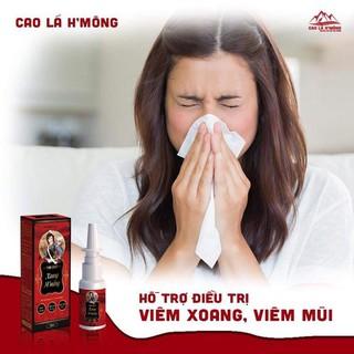 Xịt xoang mũi h'mông viêm mũi dị ứng