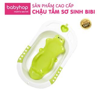 [COS12 -12% ĐH399K]Chậu tắm sơ sinh bibi cho bé