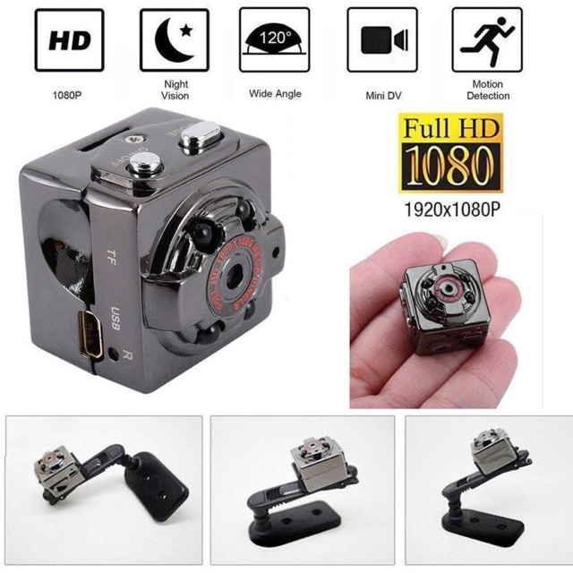 Soga SQ8 1080p HD Pocket Mini Camera Video Cam IR infrared Night Vision DVR DV Micro Camcorder