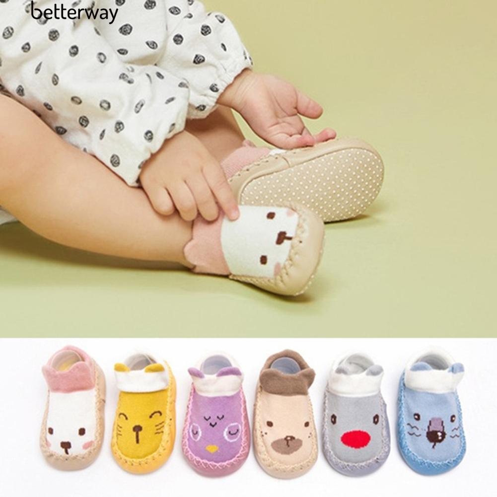 ☀Cute Cartoon Baby Cotton Anti-skid Indoor Floor Socks