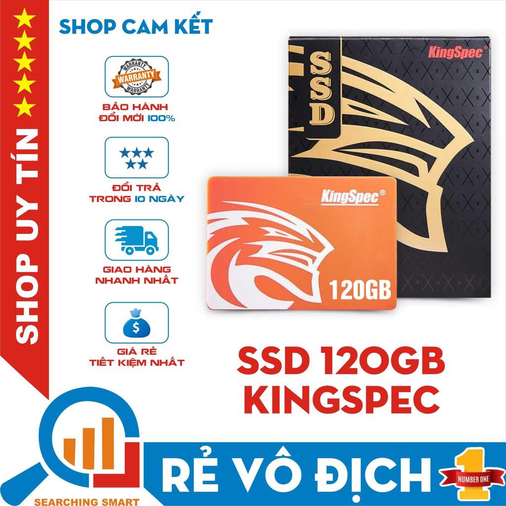"""Ổ cứng SSD Kingspec 120GB 2.5"""" - Sata 3 - Bảo hành chính hãng 36 tháng"""