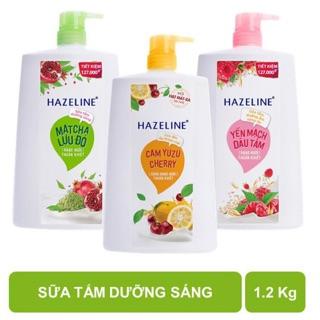Sữa Tắm Sáng Da Hazeline 1,2Kg thumbnail
