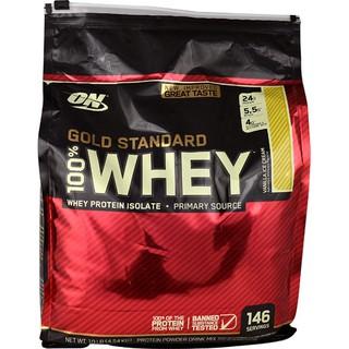[FREE SHIP+CHÍNH HÃNG] Sữa tăng cơ, Bột tăng cơ thể hình Whey Gold Standard 10Lbs (4.54 KG) Optimum Nutrition [100% USA] thumbnail