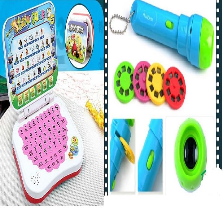 Đồ chơi Laptop dạy tiếng anh tặng bộ đèn chiếu phim cho bé - 3271831 , 606568883 , 322_606568883 , 239000 , Do-choi-Laptop-day-tieng-anh-tang-bo-den-chieu-phim-cho-be-322_606568883 , shopee.vn , Đồ chơi Laptop dạy tiếng anh tặng bộ đèn chiếu phim cho bé
