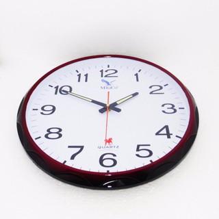 Đồng hồ tròn treo tường MitaCo (M84) 40cm nâu