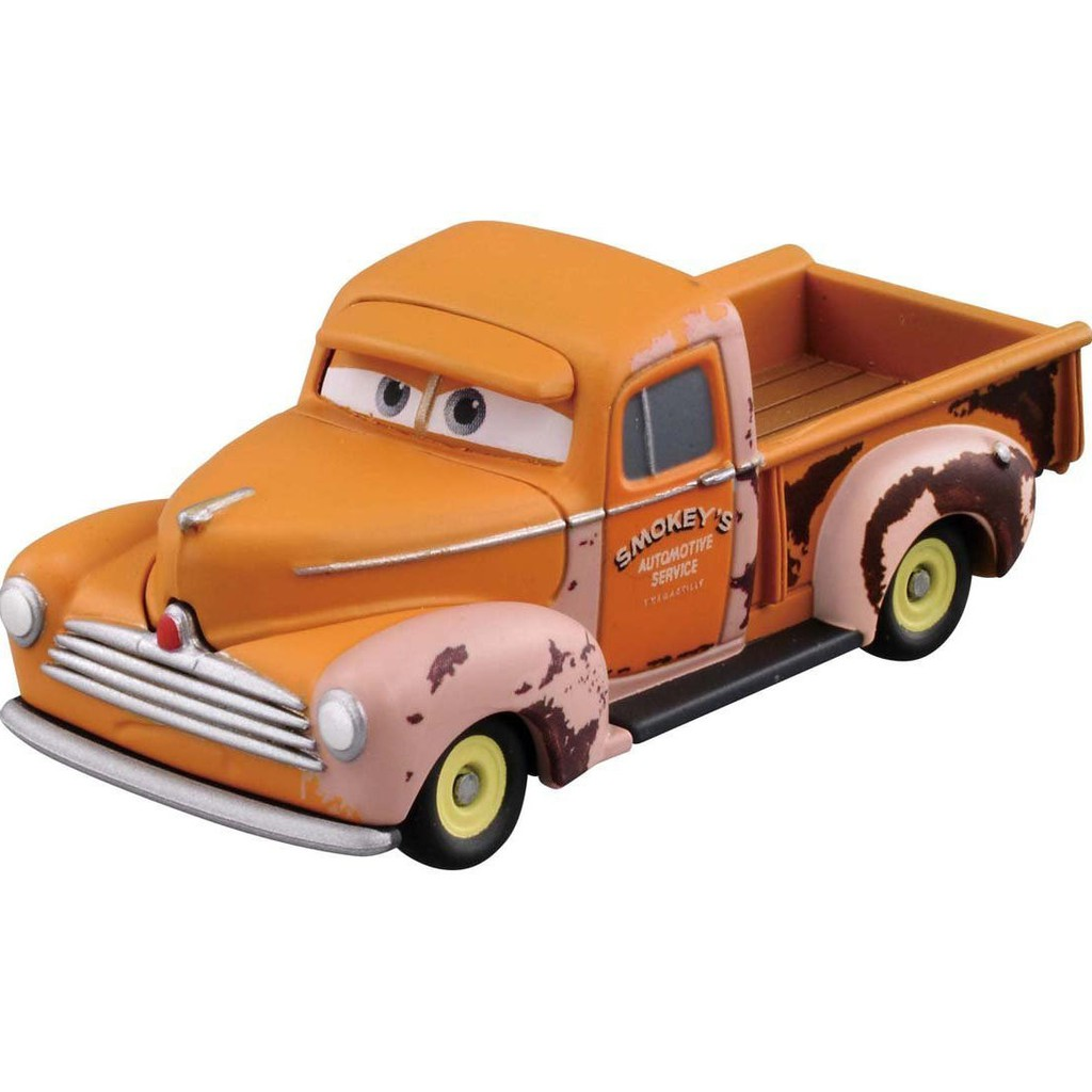 Xe đồ chơi mô hình Tomica Disney Pixar Cars C-48 Smokey