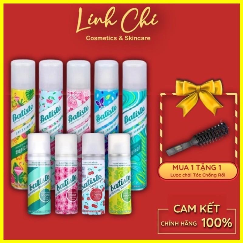 [Sẵn] Dầu Gội Khô Batiste Dry Shampoo 200ml