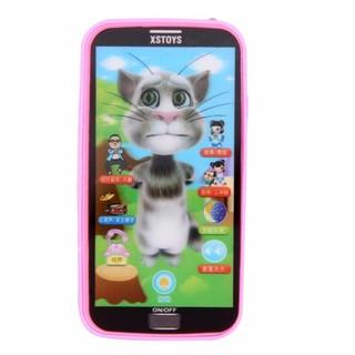 [ Đồ chơi trẻ em] Điện thoại mèo Tôm biết nói 10 chức năng
