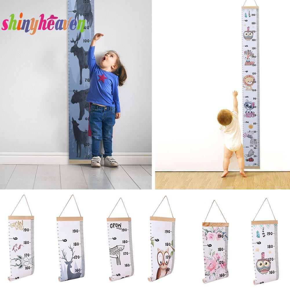 【Yuiiki】Baby Removable Decorative Lovely Growth Chart Height Ruler