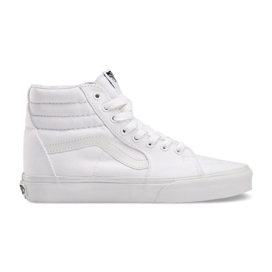 Giày Sneakers Vans Classic SK8-hi All White