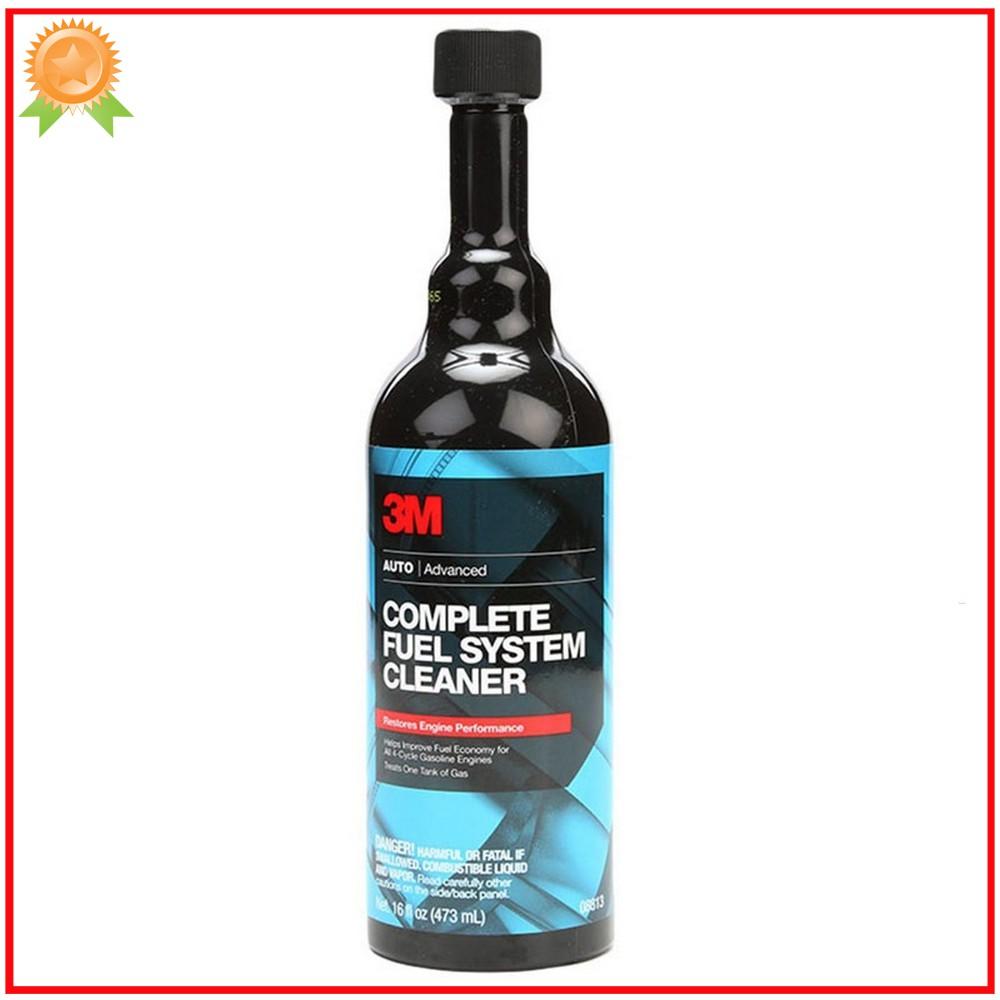 Phụ gia làm sạch động cơ xăng 3M Complete Fuel System Cleaner 08813