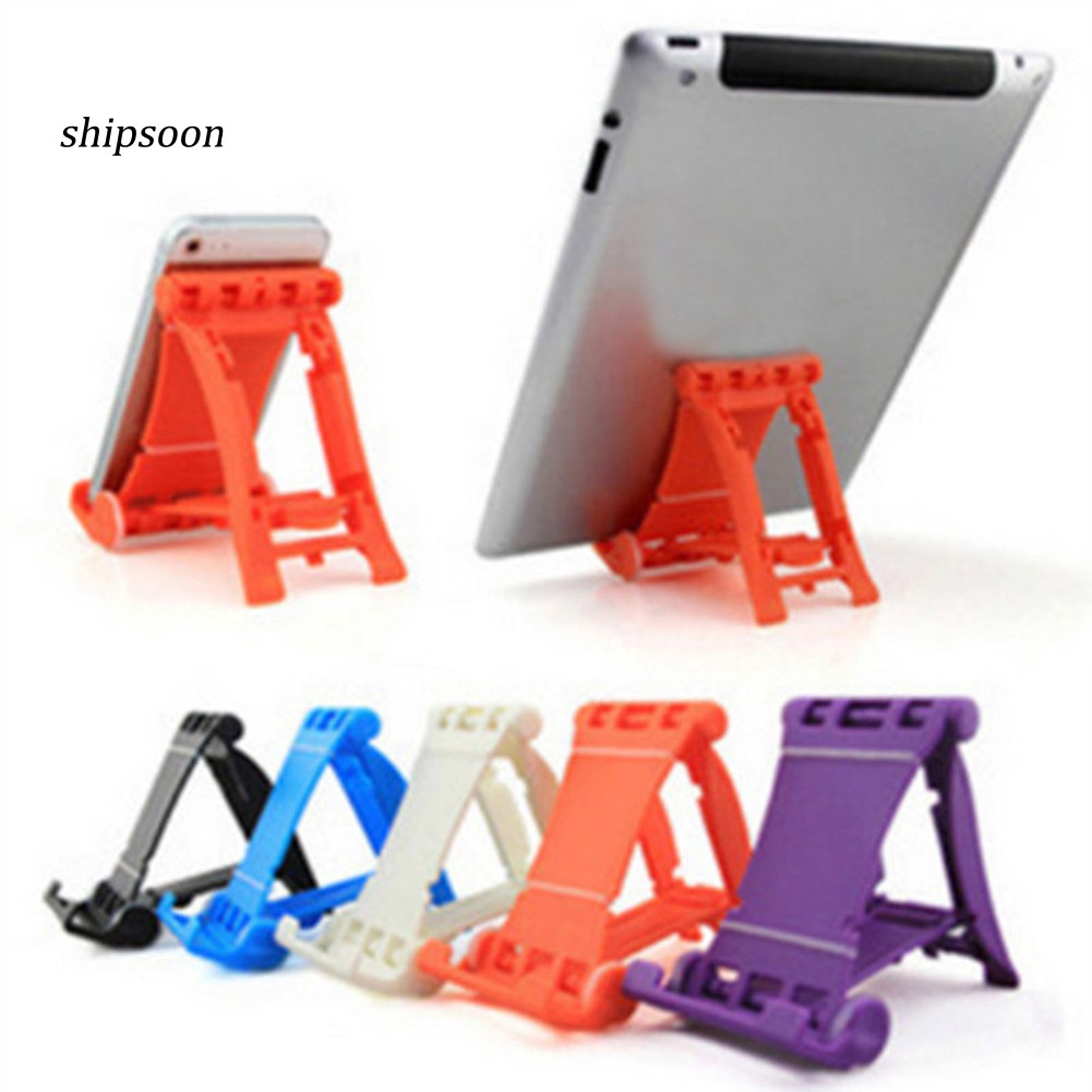 PB-Universal Desktop Foldable Cell Phone Stand Wheel Holder for Samsung iPhone GPS