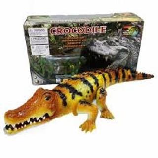 Đồ chơi cá sấu biết đi phát nhạc có đèn (loại to)