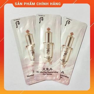 Combo 10 gói Tinh Chất Dưỡng Mắt Whoo Cheongidan Illuminating date 2023 thumbnail