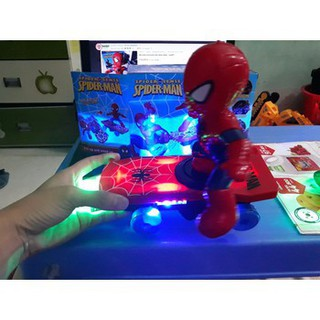[HOT] Bộ đồ chơi người nhện lướt ván Cực Chất