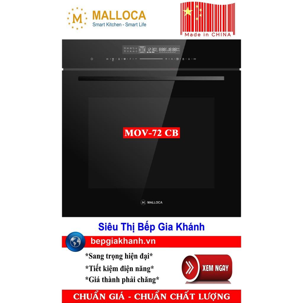 Lò nướng kèm vi sóng Malloca MOV-72 CB sản xuất Trung Quốc