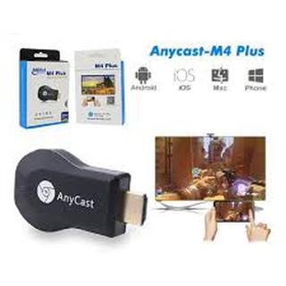 HDMI Không Dây ANYCAST M4 Plus- Tốc Độ Kết Nối Siêu Nhanh (Dùng cho android/IOS) - Có Video Clip Hướng Dẫn Sử Dụng