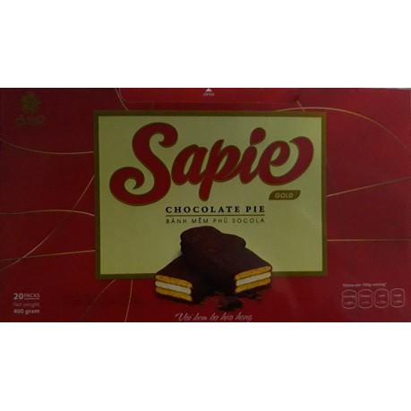 Bánh Sapie gold phủ socola hộp 20 bánh, 400g - 10067056 , 791033336 , 322_791033336 , 60000 , Banh-Sapie-gold-phu-socola-hop-20-banh-400g-322_791033336 , shopee.vn , Bánh Sapie gold phủ socola hộp 20 bánh, 400g