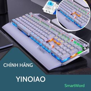 Bàn phím cơ Gaming Chính hãng YINOIAO Full LED – Bảo hành chính hãng