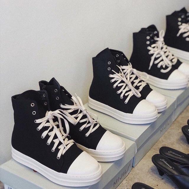 Giày sneaker vải R.O mới 2019