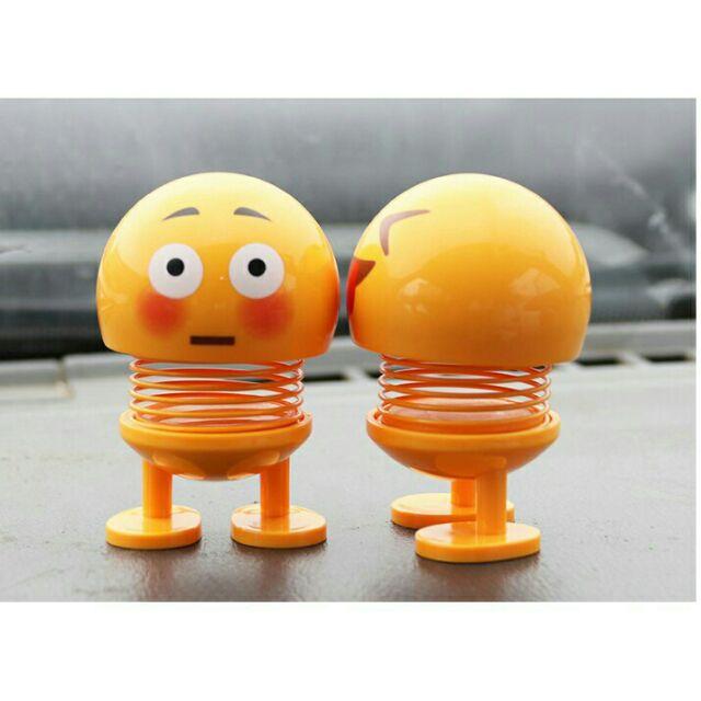 (T02-C01) Combo 06 em Smiling face - Đồ chơi emoji nhún lò xo, emoji lò xo ngộ nghĩnh, đồ chơi...